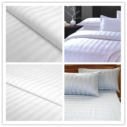 100% white 40x40 240T Stripe