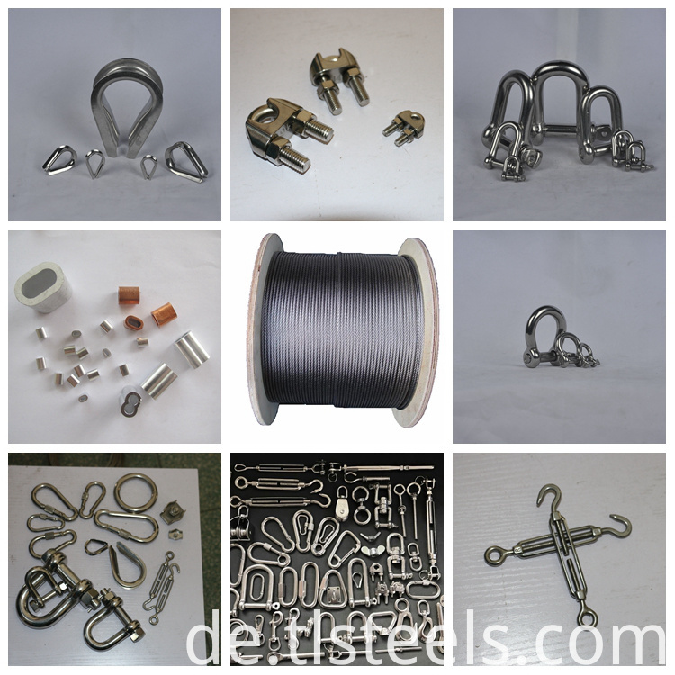 Stainless Steel Wire Rope with Factory Price