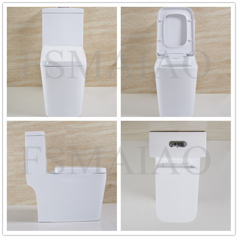 Sanitary Ware Bathroom Plumber Siphonic One Piece Toilet (8103)