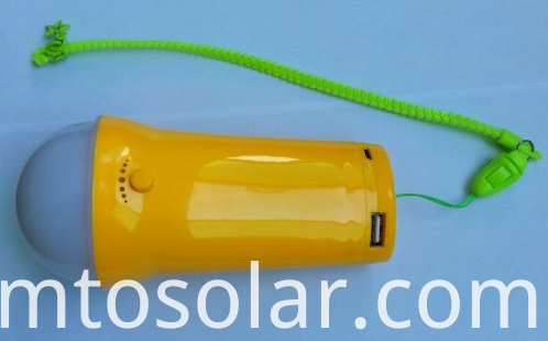 Solar boat light