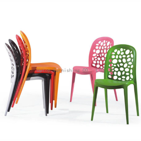Stacking Modern Dining Restaurant Plastic Chair (SP-UC316)