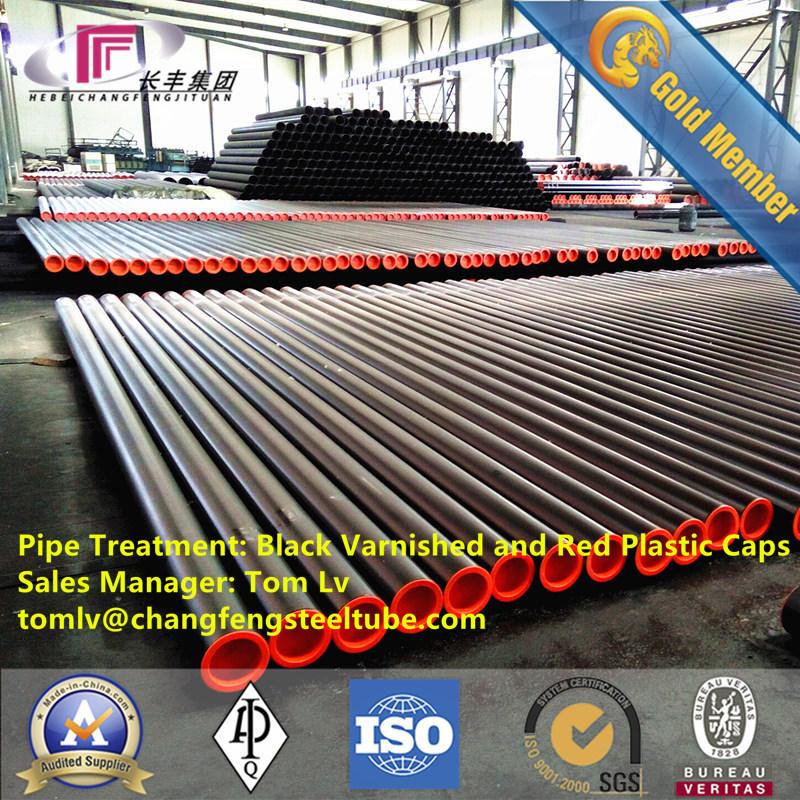 Seamless Steel Pipe for Oilfield Equipment API5l Line Steel Pipe