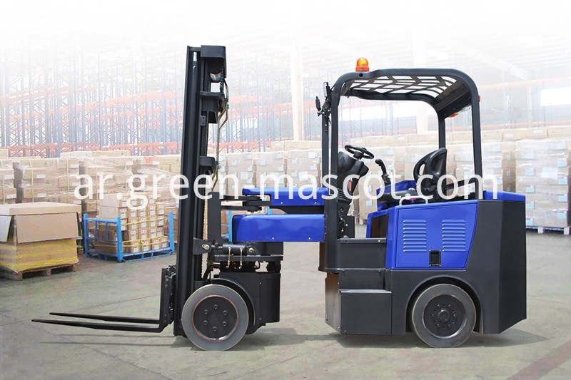 2 ton articulated forklift