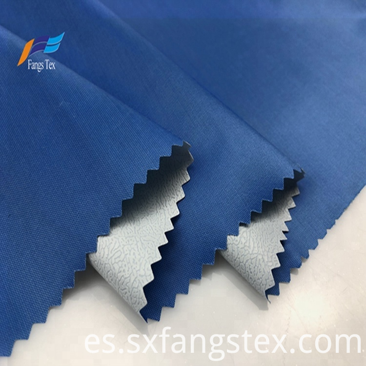 100% Polyester PVC 170T Taffeta Raincoat Fabric 1