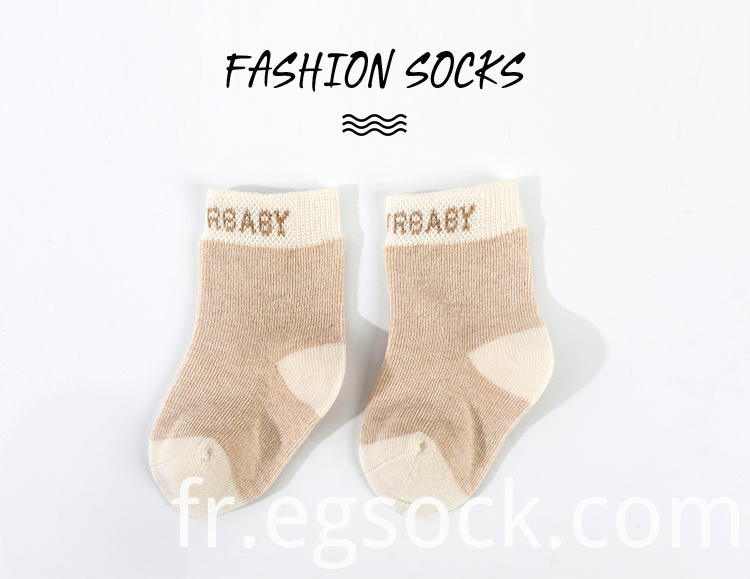 Organic Cotton New Born Socks