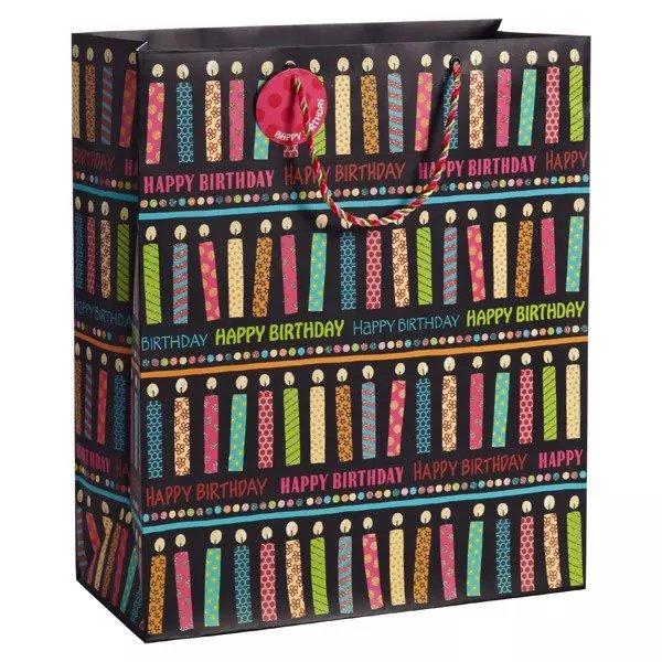 Cosmetic Shopping Paper Gift Bag Custom Shopping Cosmetic Bag