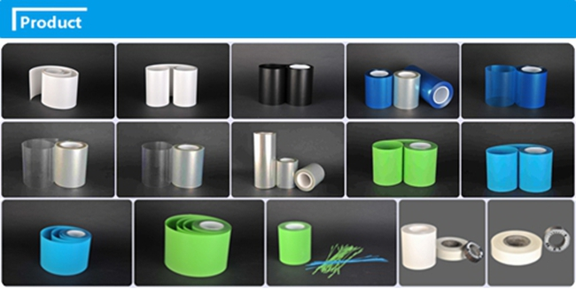 Heat Resistent Insulation Clear Blue Polyester Film (CY20L)