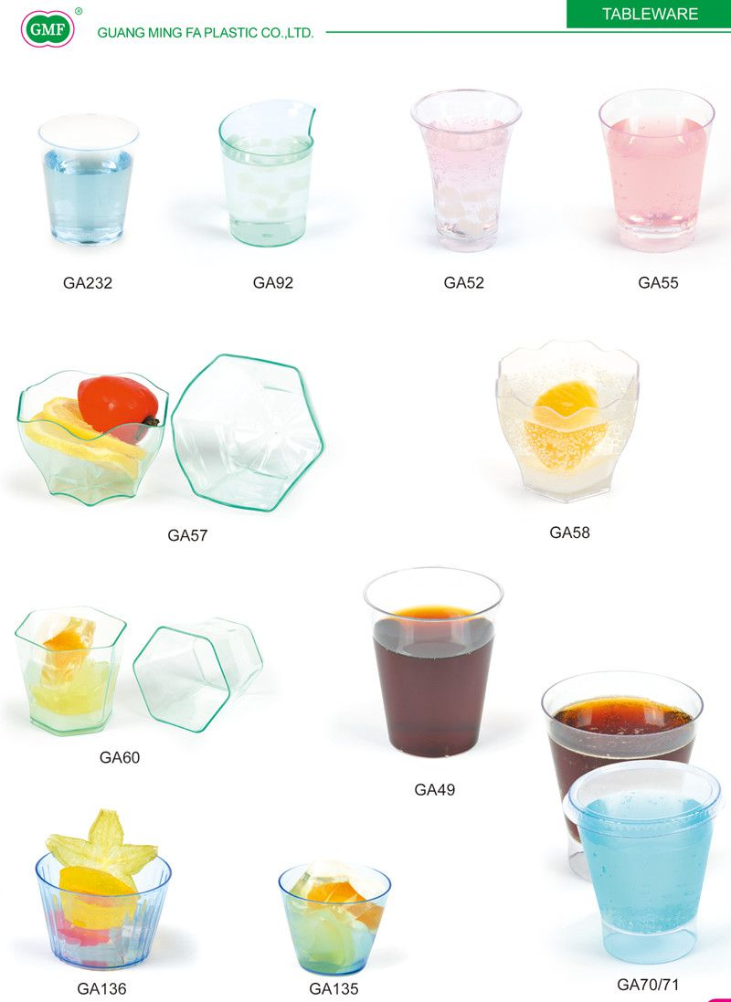 100ml Heart Shaped Cup with Lid Plastic Cup Tableware