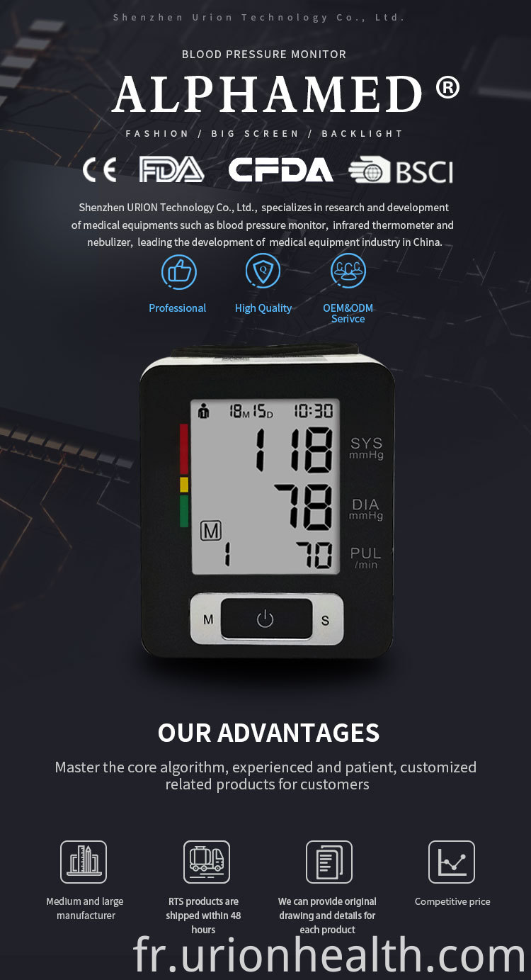 Wireless blood pressure monitor