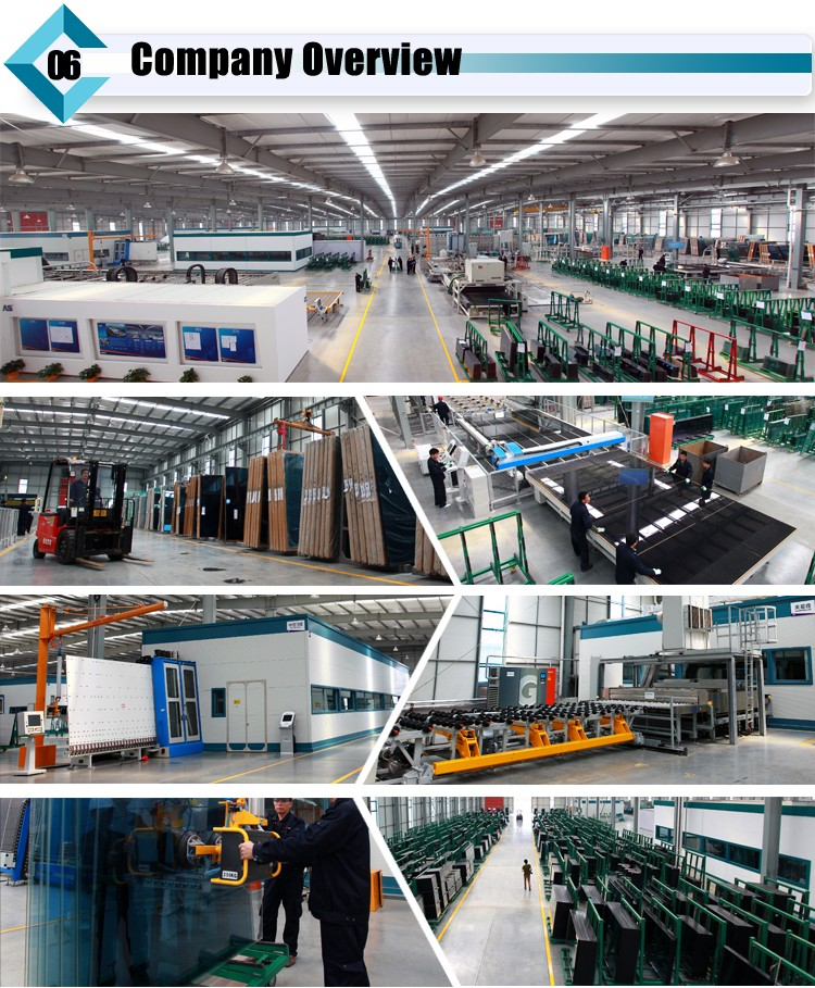 Insulated glass factory