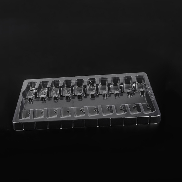 medical vial packaging vacuum forming transparent blister trays ampoule
