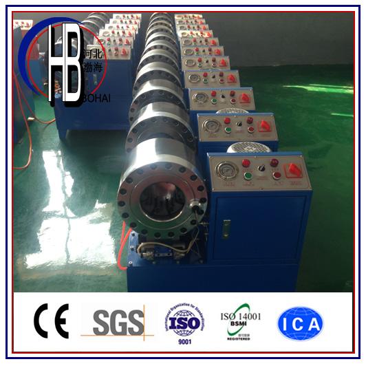 China Hose Crimper Price 1/4''~2'' Hydraulic Hose Crimping Machine with Best Price