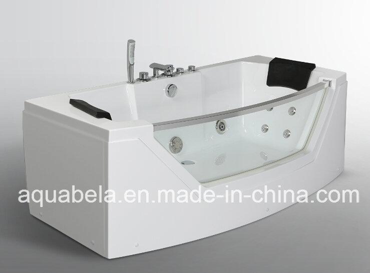 Luxury Acrylic Whirlpool Jacuzzi Hot Tub Massage Bathtub with Jet