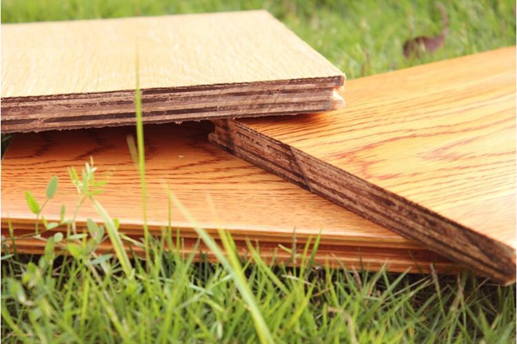 Engineered Solidwood Flooring-Oak/Ash/Elm/ Multi-Layer Handscraped Antique