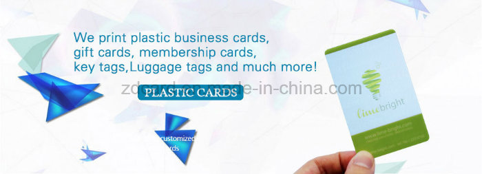 Cr80 RFID Plastic Contact IC Chip Smart Card