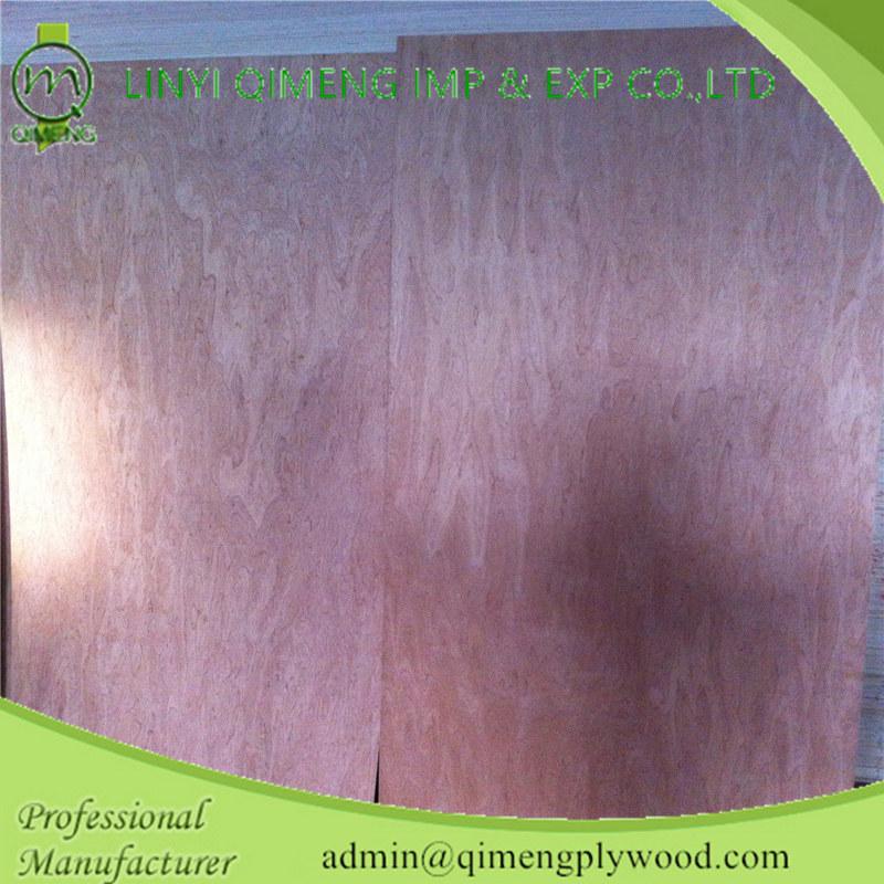 Poplar Core Bintangor Veneer Face Door Skin Plywood with Cheap Price