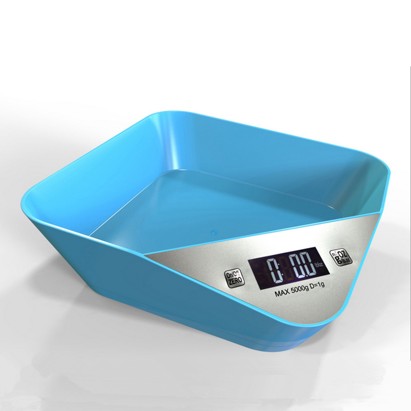Mini Kitchen Food Vegetable Scale with Bowl