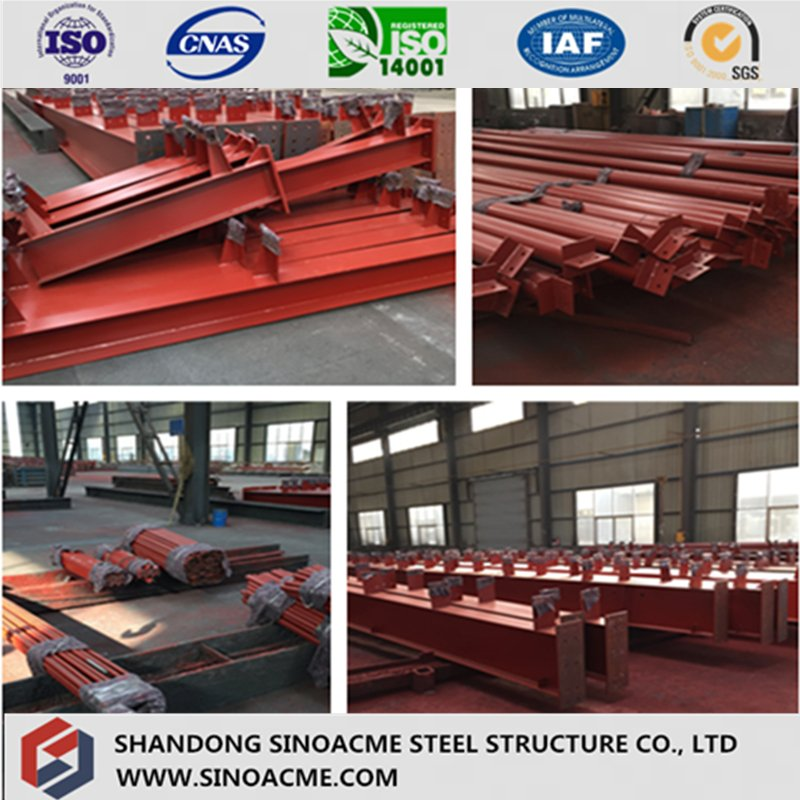 Manufactured Heavy Steel H Section for Bridge