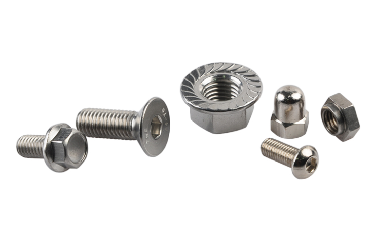 Electronic Bolts and Nuts with Different Size