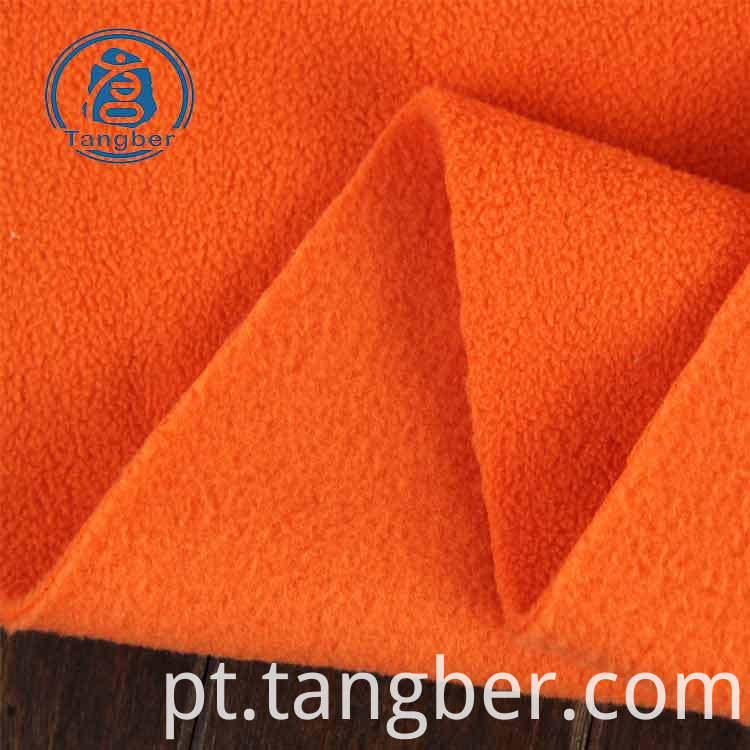 plain polar fleece fabric