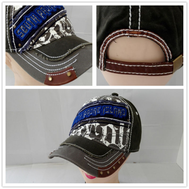 Washed Promotional Items Baseball Caps