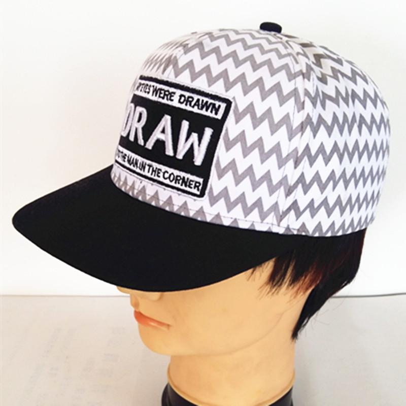 Double-Sided Hip-Hop Cap City Fashion Hat 3 D Street Dance Caps