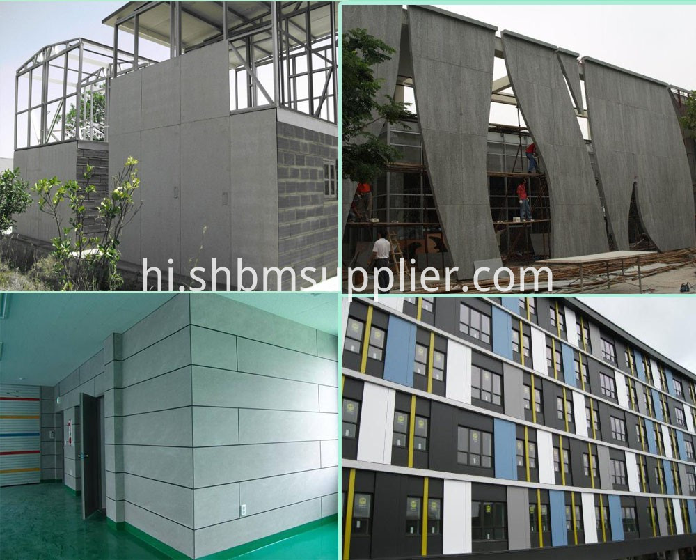 High Quality Foreproof Fiber Cement Board