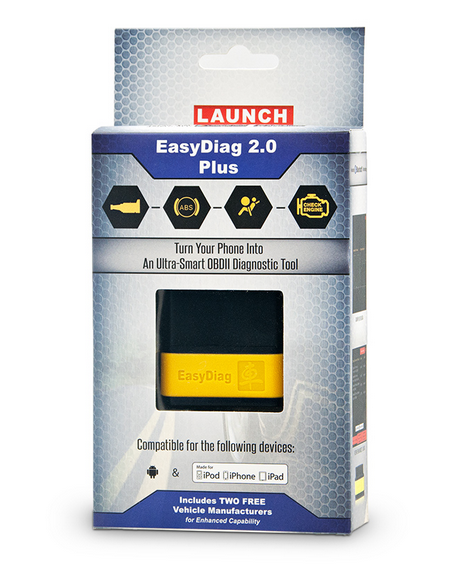 Launch X431 Easydiag 2.0 Obdii Code Reader Scanner Easy Diag for Android or Ios