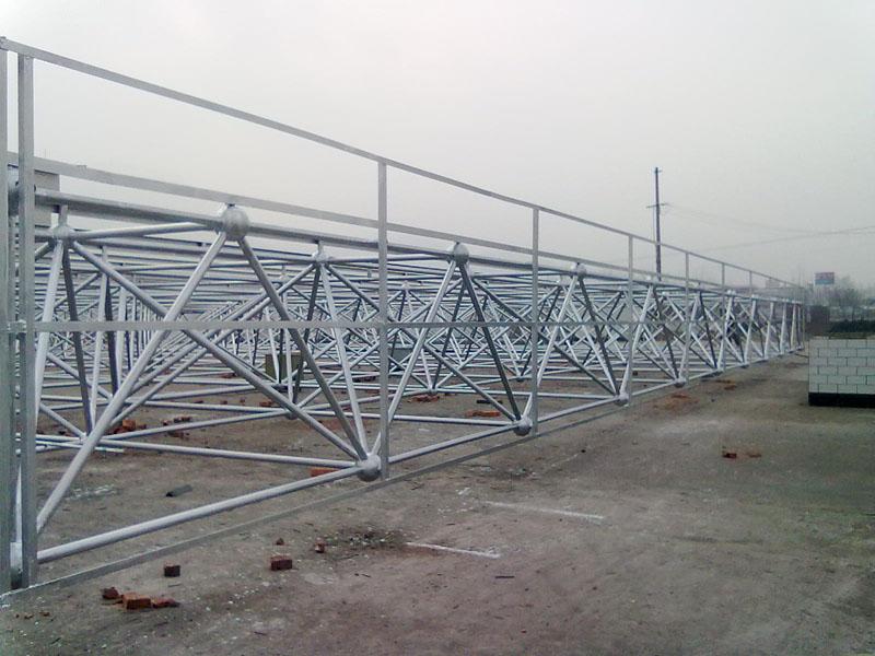 Prefab Large Span Steel Space Frame Roof Aircraft Hangar