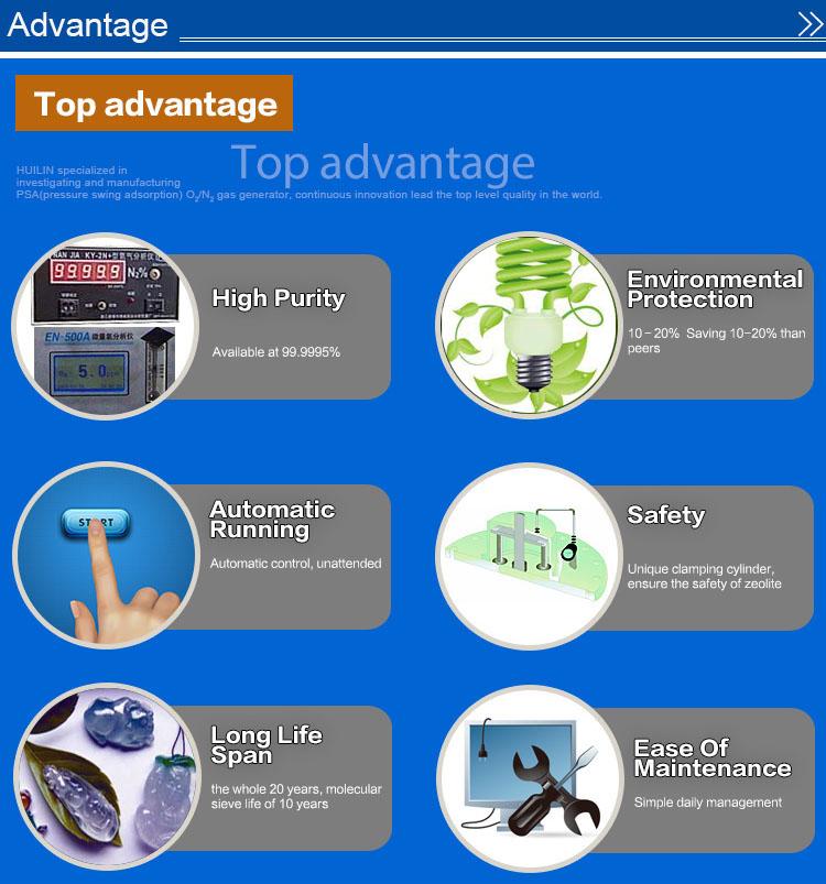 High Putiry Psa Nitrogen Generator for Electronic/Chemical