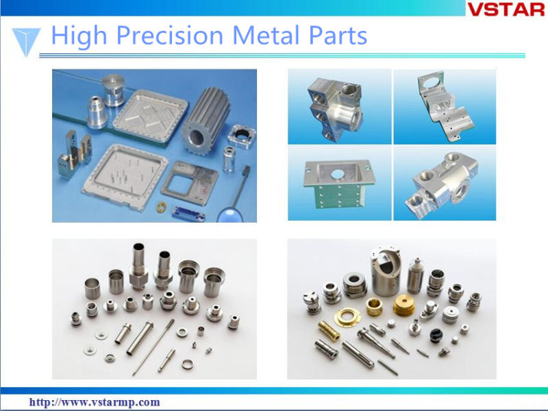 Precision High Quality Milling Machined Parts with Plated Vst-0991