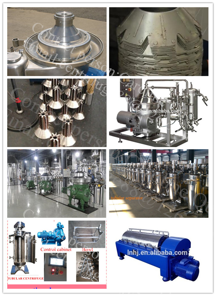 Various Volume 3-Phase Chamber Bowl Centrifuge for Palm Oil