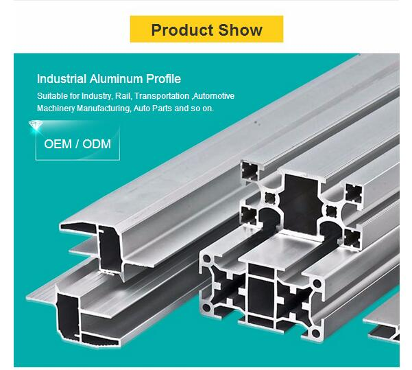 Extruded Color Anodized Aluminium Profiles From China Manufacturer with Cheaper Metal Price