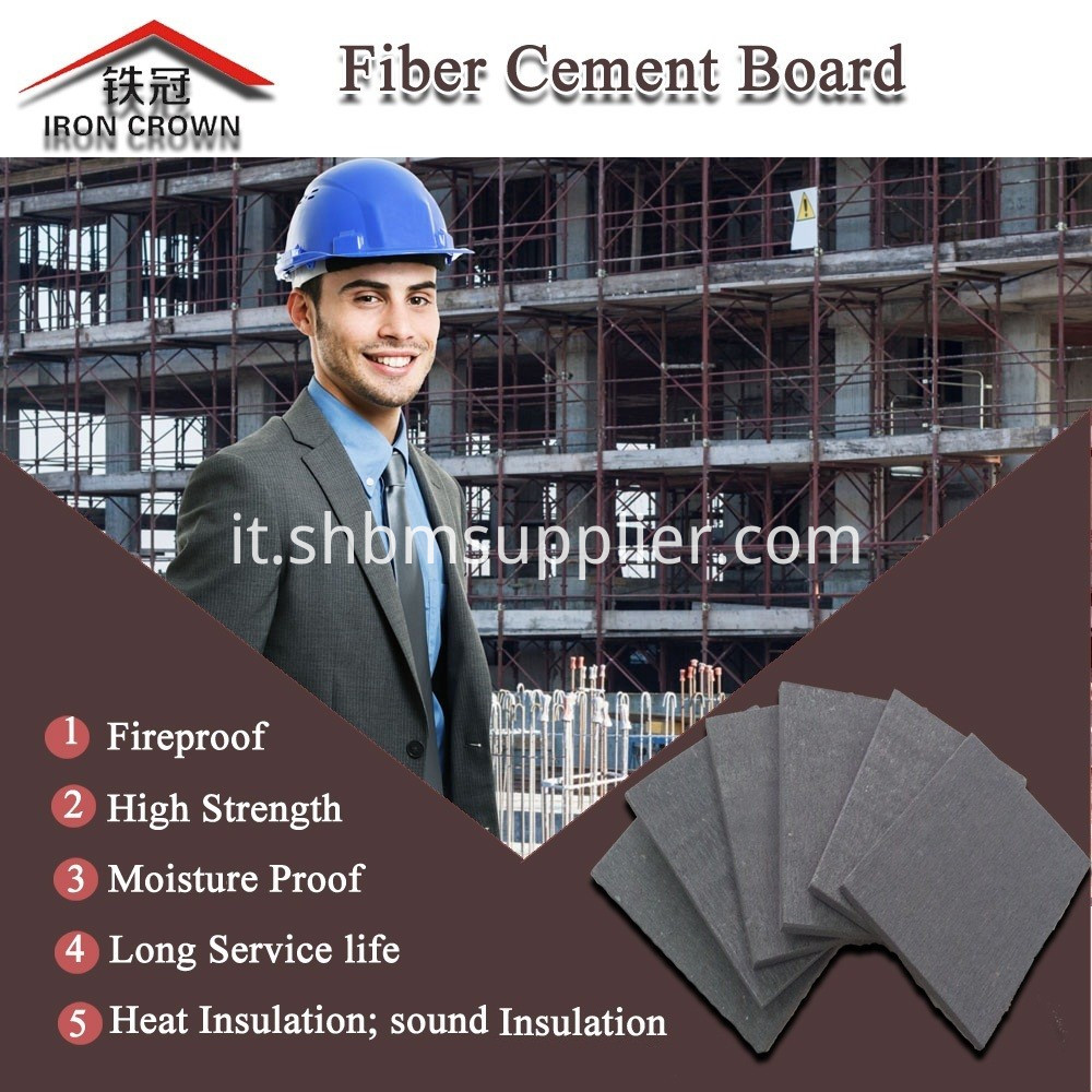 Dam-proof Fire-resistant High-density Fiber Cement Board