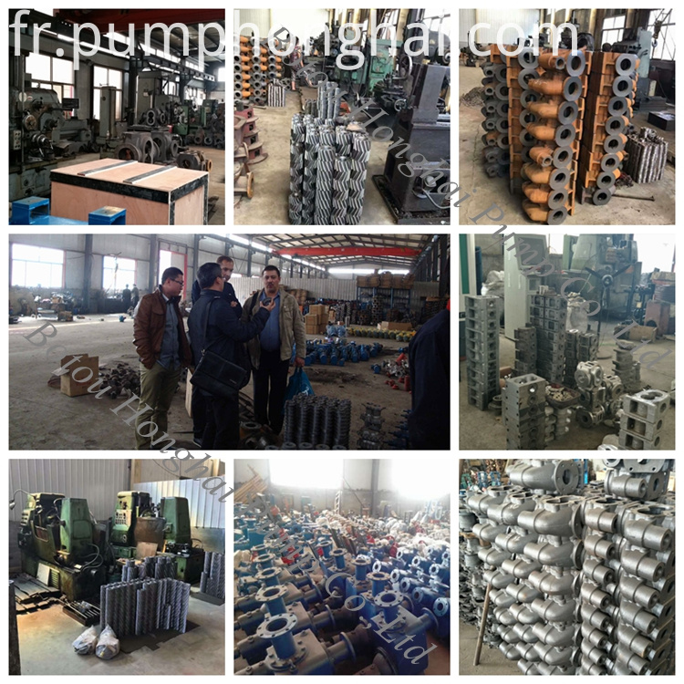 stainless steel material single screw pump