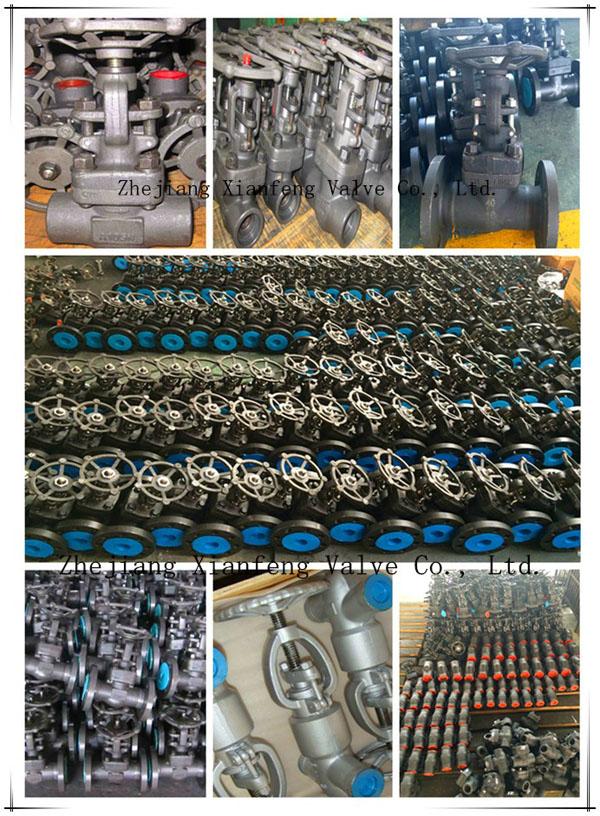 DIN High Pressure Forged Carbon Steel A105 Welding Globe Valve