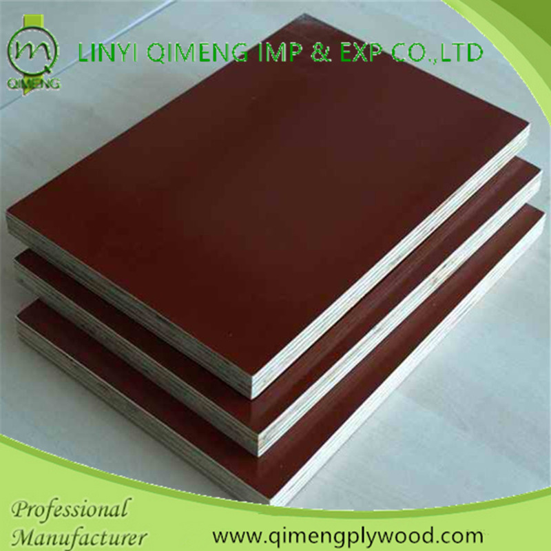 One Time Hot Press 17mm Brown Film Faced Plywood in Hot Sale