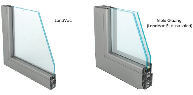 Landvac China Double Glazing Vacuum Insulating Glass for Green House