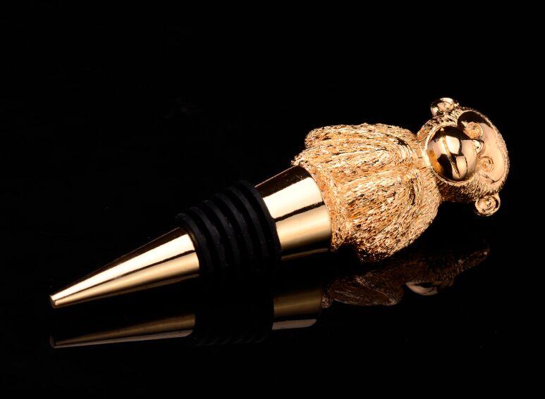 Elephant Shape Design Wine Bottle Stopper (GZHY-BS-026)