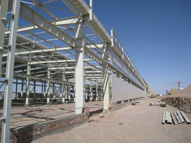 Steel Structure Industry Workshop Building