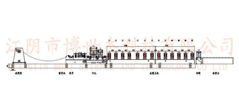 Auto China Highway Guardrail Roll Forming Machine Vietnman (BOSJ-H)