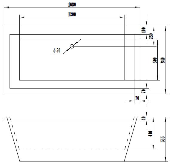 Quality Freestanding Project Bathtub