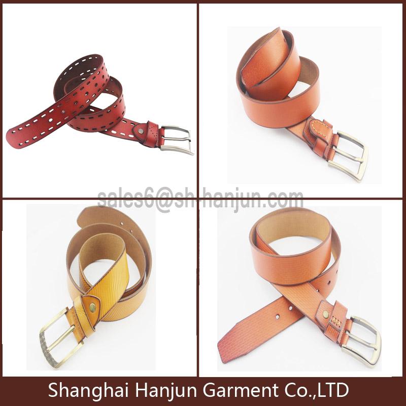 New Arrival Popular Genuine Leather Men's Belt Full Grain