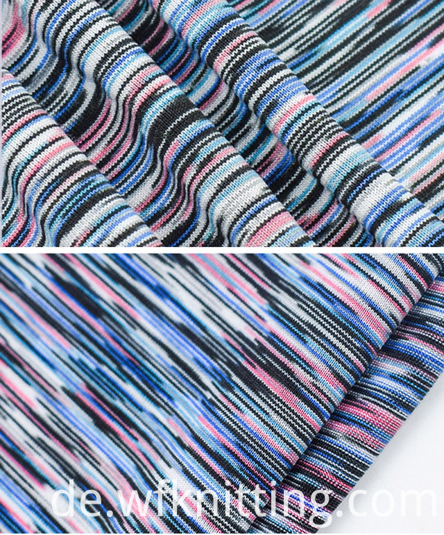 Polyester Spandex Fabric For Yoga