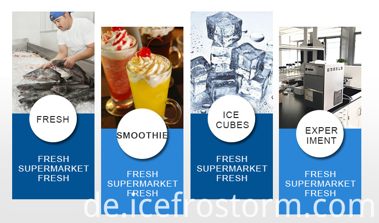 Supermarket Ice Maker