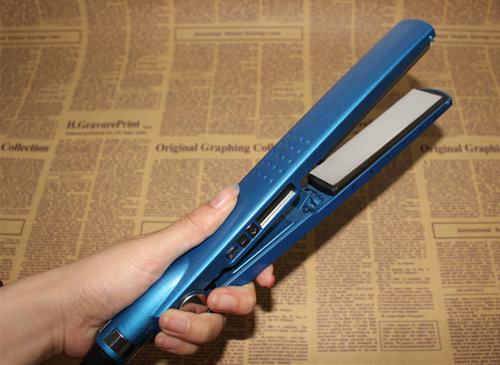 Temperature Adjustable Steam Hair Flat Iron