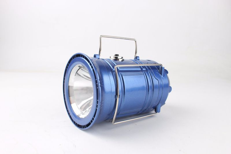 6W Manufacturer Portable Solar Camping Lantern for Outdoor Sport