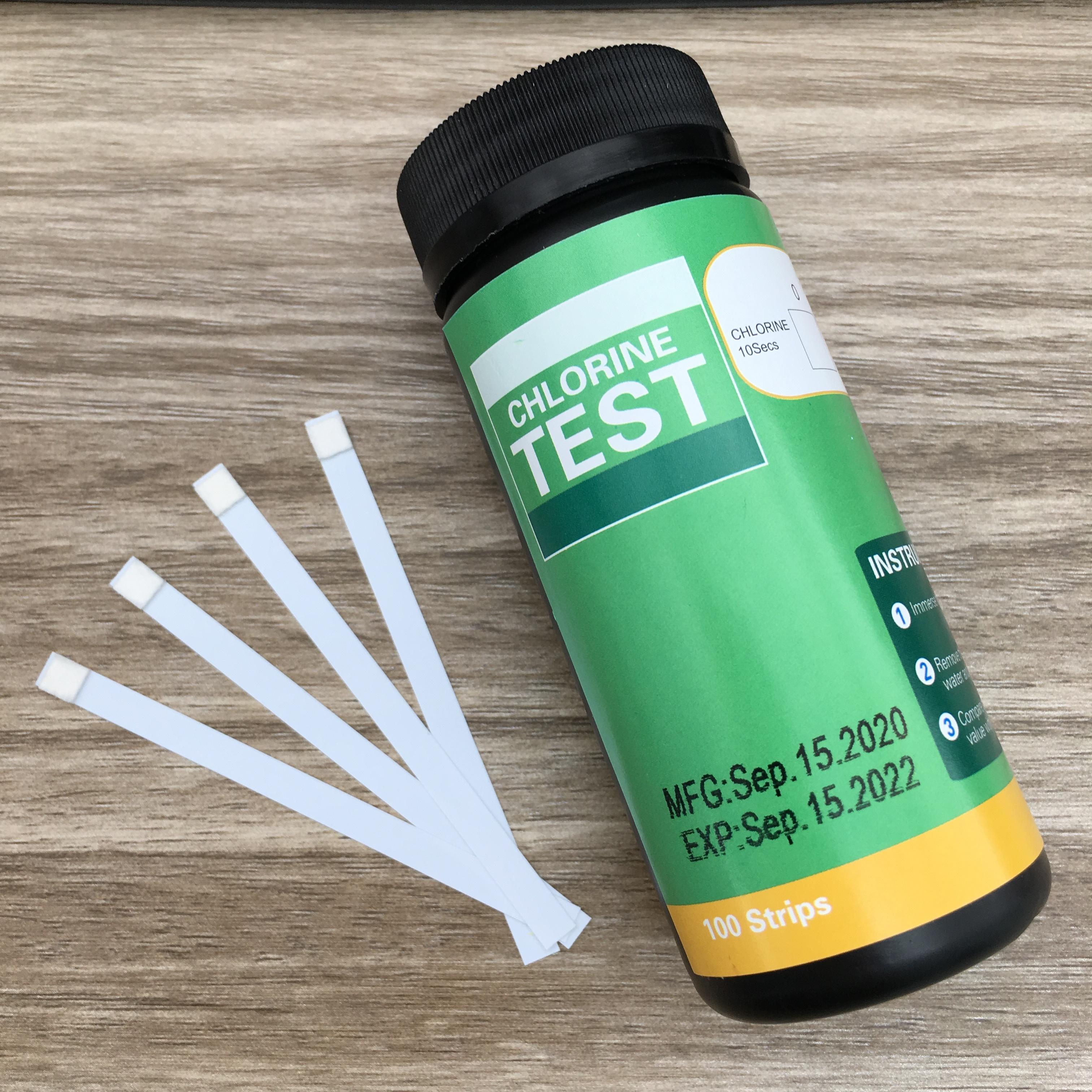 Hot sale Chlorine Water Test Strips