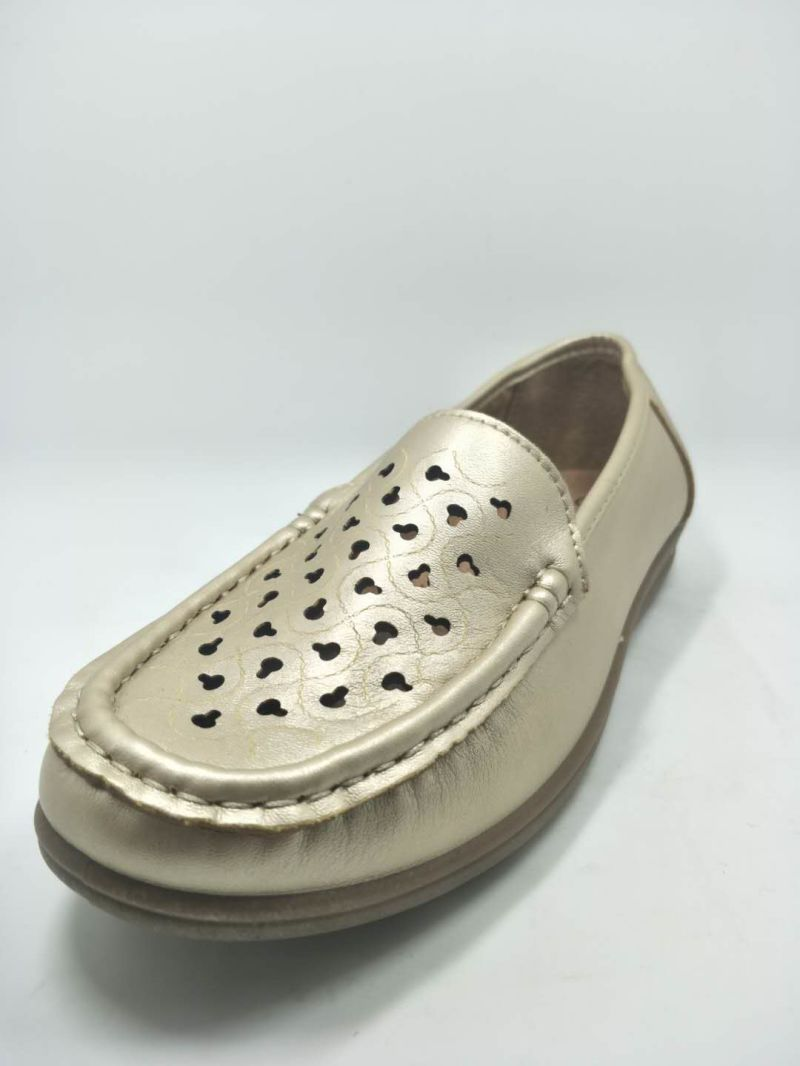 Old Women Stitching Shoes Injection PU Polyurethare Casual Footware