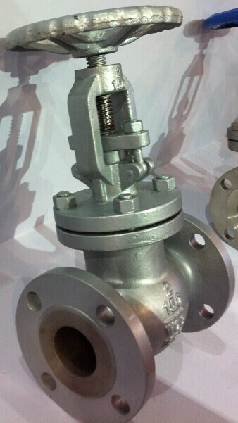Globe Valve of Flanged Ends with Cast Steel